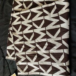 MK monogram infinity scarf